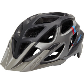 Alpina Mythos 3.0 L.E. Kask rowerowy, dark silver-blue-red